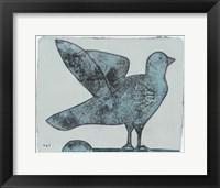 Framed Stoned Pigeon 13