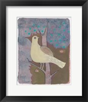 Framed Yellow Dove 15