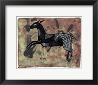 Framed Ethnic Deer