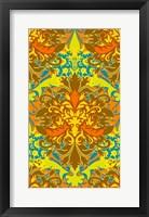 Framed Orange & Yellow (Pattern)