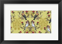 Framed Goldfinches (Pattern)