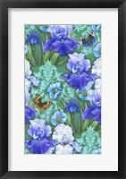 Framed Irises (Pattern)