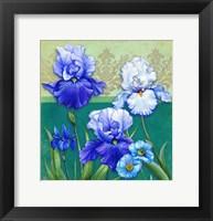 Framed Blue Flowers