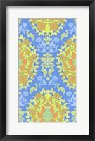 Framed Blue & Yellow (Pattern)