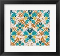 Framed Teal & Orange (Pattern)
