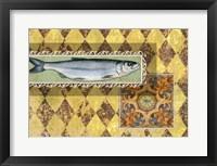 Framed River Fish