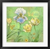 Framed Spring Flowers II