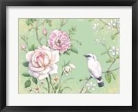 Framed White Bird