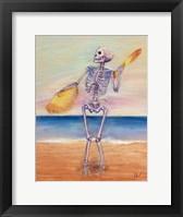 Framed Skelly Dancer No. 10