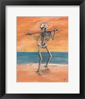 Framed Skelly Dancer No. 11