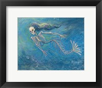 Framed Skelly Mermaid