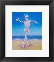 Framed Skelly Dancer I