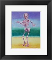 Framed Skelly Dancer V