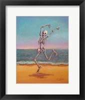 Framed Skelly Dancer VIII