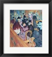 Framed Au Moulin Skelly