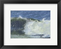 Framed Wave Portrait No. 75
