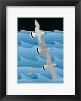 Framed Gulls