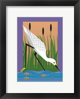 Framed In The Marsh