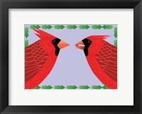Framed Cardinals Holly