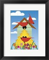 Framed Bird Condo