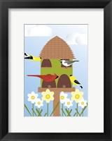 Framed Bird Feeder