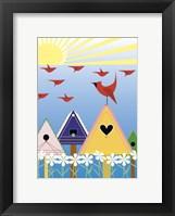 Framed Birdie Freeway