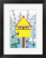 Framed Chickadees 2