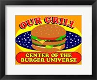 Framed Burger Universe