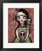 Framed Frida Day Of The Dead