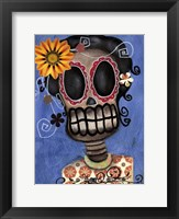 Framed Frida Muerta