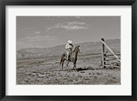 Framed Those Wild Montana Skies