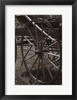 Framed Wagon Wheel