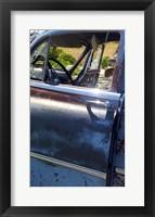 Framed Pontiac Up Close