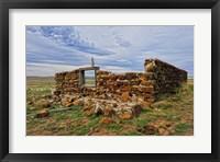 Framed Rock Prairie