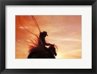 Framed Sunset Roper