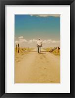Framed Walking The Open Range