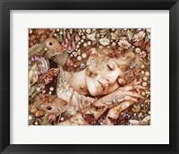 Framed Charlotte Asleep