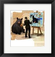 Framed Bull Spin
