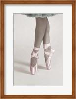 Framed Dancing En Pointe Color