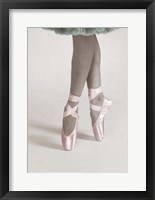 Framed Dancing En Pointe Color