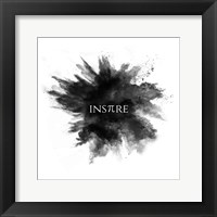 Framed Inspire Powder Explosion Black