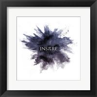 Framed Inspire Powder Explosion Purple