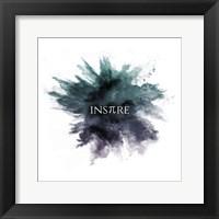 Framed Inspire Powder Explosion Green