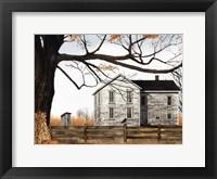 Framed Harvest Time House
