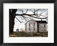 Framed Spring Morning House