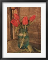 Framed Country Tulips