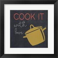 Framed Cook It With Love