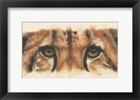 Framed Eye- Catching Cheetah