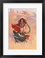 Framed Desert Warrior