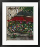 Framed Florist On The Rive Gauche